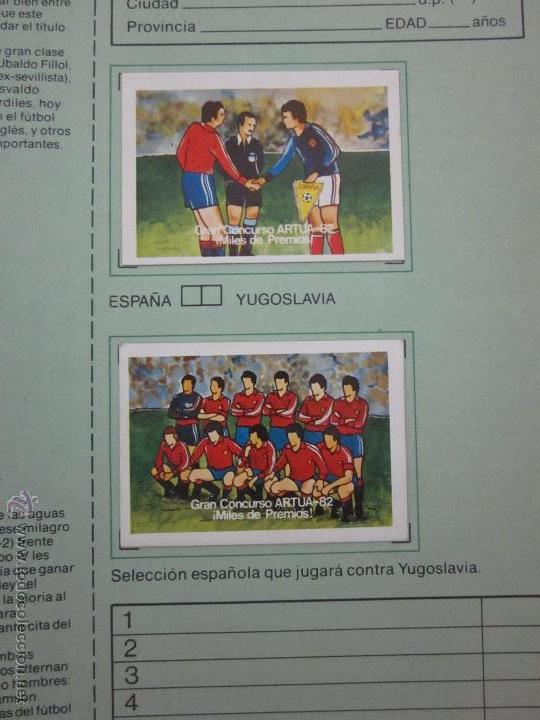 Coleccionismo deportivo: EL MUNDIAL DE ESPAÑA - ALBUM INCOMPLETO FALTAN 4 CROMOS - PUBLICIDAD MARGARINA ARTUA- (ALB-71) - Foto 8 - 41514393