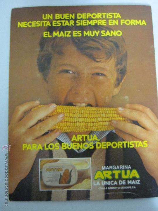 Coleccionismo deportivo: EL MUNDIAL DE ESPAÑA - ALBUM INCOMPLETO FALTAN 4 CROMOS - PUBLICIDAD MARGARINA ARTUA- (ALB-71) - Foto 9 - 41514393