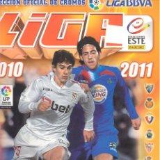 Coleccionismo deportivo: ALBUM LIGA ESTE 2010 2011 (417 CROMOS). Lote 41613715