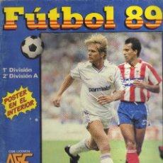 Coleccionismo deportivo: ÁLBUM FÚTBOL 89 PANINI, 1ª Y 2ª DIVISIÓN ESPAÑOLA INCOMPLETA - ALB 2. Lote 41695519