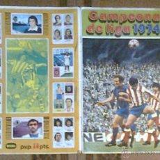 Coleccionismo deportivo: TAPAS DEL ALBUM DE FUTBOL 1974/75, FHER/DISGRA. Lote 41700470