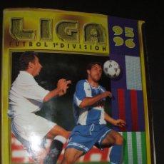 Coleccionismo deportivo: ALBUM DE CROMOS INCOMPLETO LIGA 95-96 DE EDICIONES ESTE LE FALTAN 5 CROMOS Y 7 FICHAJES. Lote 42052385