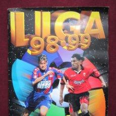 Coleccionismo deportivo: ÁLBUM CAMPEONATO DE LIGA 98 99. EDICIONES ESTE. SEMI COMPLETO. TEBENI 1998 1999. MBE. Lote 42053194