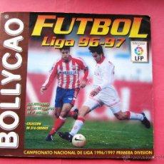 Coleccionismo deportivo: ÁLBUM INCOMPLETO.BOLLYCAO FÚTBOL LIGA 96 97.. Lote 42266031