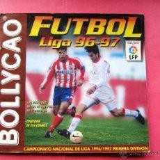 Coleccionismo deportivo: ÁLBUM INCOMPLETO. BOLLYCAO FÚTBOL LIGA 96 97.. Lote 42266096