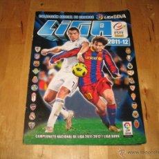 Coleccionismo deportivo: COLECCIONES ESTE PANINI LIGA FÚTBOL 2011 2012 2011-12 ÁLBUM VACÍO CROMOS PEGATINAS LIGA BBVA. Lote 42293970