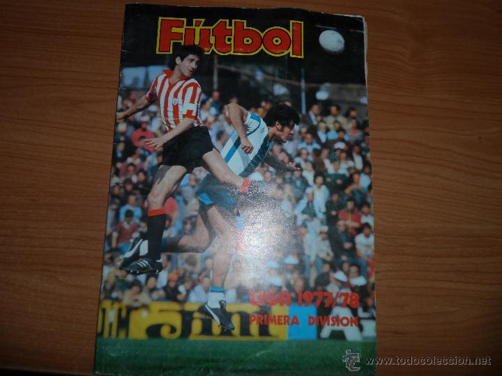 ALBUM ESTE LIGA 1977 - 1978 ( 77 - 78 ) COMPLETO A FALTA DE UNOS FICHAJES (Coleccionismo Deportivo - Álbumes y Cromos de Deportes - Álbumes de Fútbol Incompletos)