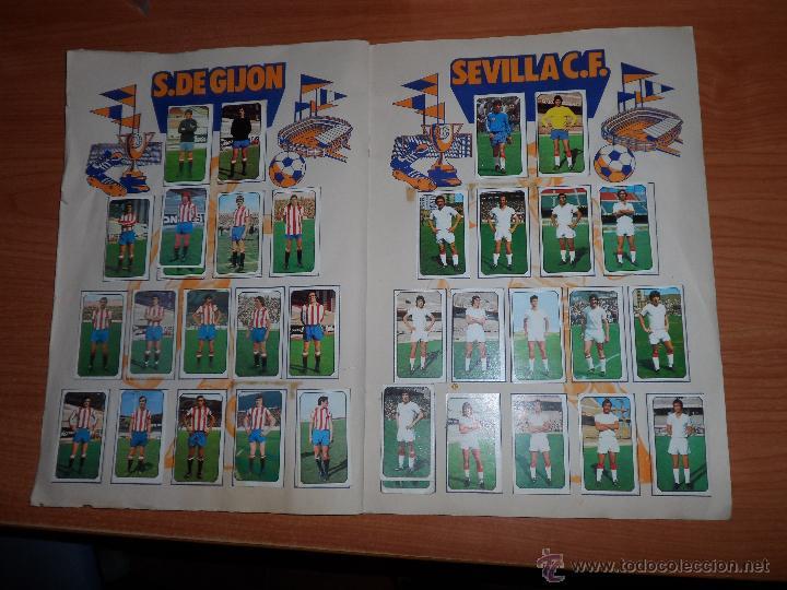 Coleccionismo deportivo: ALBUM ESTE LIGA 1977 - 1978 ( 77 - 78 ) COMPLETO A FALTA DE UNOS FICHAJES - Foto 9 - 42427708