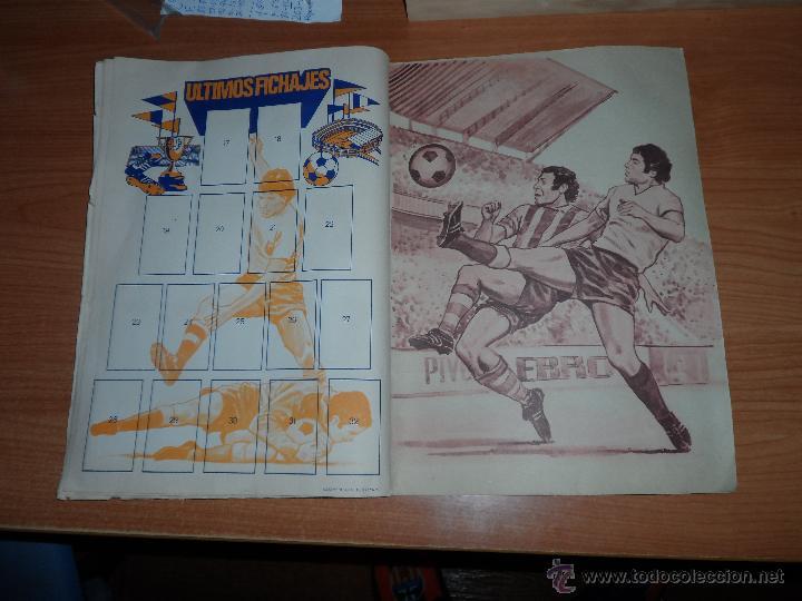 Coleccionismo deportivo: ALBUM ESTE LIGA 1977 - 1978 ( 77 - 78 ) COMPLETO A FALTA DE UNOS FICHAJES - Foto 12 - 42427708
