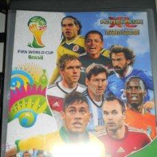 Coleccionismo deportivo: VERSION ING. ALBUM FICHERO ARCHIVADOR VACIO ADRENALYN CROMOS FIFA WORLD CUP BRAZIL BRASIL 2014 14. Lote 42433563