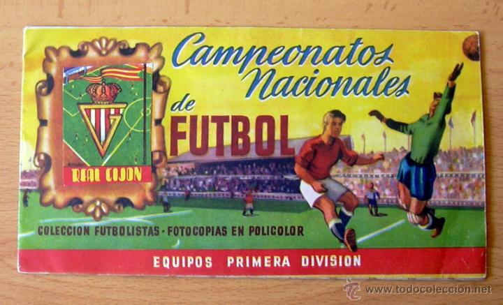 SPORTING DE GIJÓN - EDITORIAL RUIZ ROMERO 1951-1952, 51-52 - VER FOTOS INTERIORES (Coleccionismo Deportivo - Álbumes y Cromos de Deportes - Álbumes de Fútbol Incompletos)