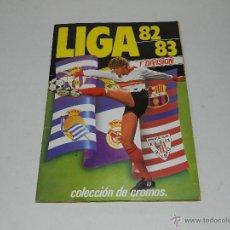Coleccionismo deportivo: ALBUM LIGA 82 / 83 , EDICIONES ESTE , INCOMPLETO PERO CON COLOCAS Y FICHAJES , VER FOTOGRAFIAS . Lote 42524723