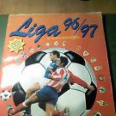 Coleccionismo deportivo: ALBUM DE CROMOS DE FUTBOL LIGA 96/97. Lote 42528274