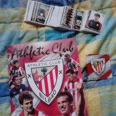 Coleccionismo deportivo: ALBUM CROMOS FUTBOL ATHLETIC BILBAO VIZCAYA 2010-11. Lote 42651039