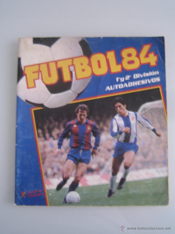 FUTBOL 84 ALBUM DE CROMOS PANINI INCOMPLETO FALTAN 216 CROMOS (Coleccionismo Deportivo - Álbumes y Cromos de Deportes - Álbumes de Fútbol Incompletos)