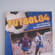 futbol 84 album de cromos panini incompleto faltan 216 cromos