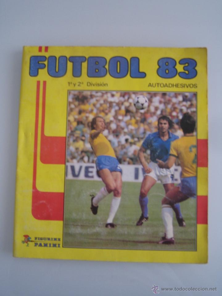 FUTBOL 83 ALBUM DE CROMOS PANINI INCOMPLETO FALTAN 86 CROMOS (Coleccionismo Deportivo - Álbumes y Cromos de Deportes - Álbumes de Fútbol Incompletos)