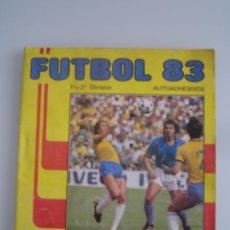 Coleccionismo deportivo: FUTBOL 83 ALBUM DE CROMOS PANINI INCOMPLETO FALTAN 86 CROMOS. Lote 179309147