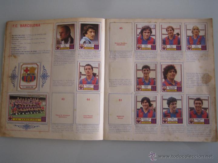 Coleccionismo deportivo: futbol 83 album de cromos panini incompleto faltan 86 cromos - Foto 4 - 179309147