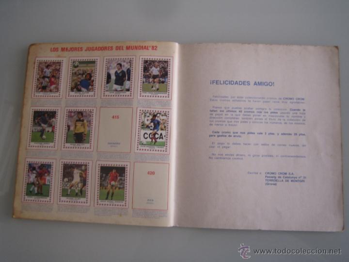 Coleccionismo deportivo: futbol 83 album de cromos panini incompleto faltan 86 cromos - Foto 15 - 179309147