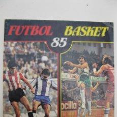 Coleccionismo deportivo: ÁLBUM DE CROMOS - FÚTBOL BASKET 85 - PANINI - AÑO 1985.. Lote 42790930