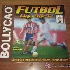 Coleccionismo deportivo: ALBUM BOLLYCAO FUTBOL 96 97 LIGA 1996 1997 CON 25 CROMOS PEGADOS -. Lote 42915372