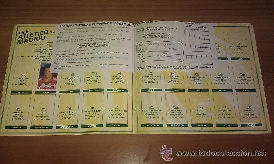 Coleccionismo deportivo: ALBUM BOLLYCAO FUTBOL 96 97 LIGA 1996 1997 CON 25 CROMOS PEGADOS - - Foto 3 - 42915372
