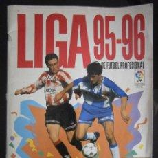 Coleccionismo deportivo: ALBUM FUTBOL LIGA 95-96 INCOMPLETO PANINI A FALTA DE 26 CROMOS. Lote 43083481