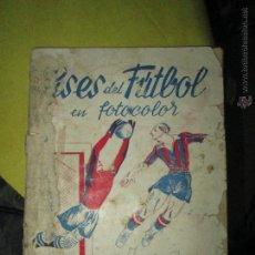Coleccionismo deportivo: ASES DEL FUTBOL EN FOTOCOLOR ORIGINAL VACIO MUY MUY RARO NUNCA EN TODOCOLECCION. Lote 43114914
