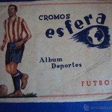 Coleccionismo deportivo: (F-505)ALBUM DEPORTES FUTBOL CROMOS ESFERA AÑO 1942 (PORTADAS). Lote 43125267
