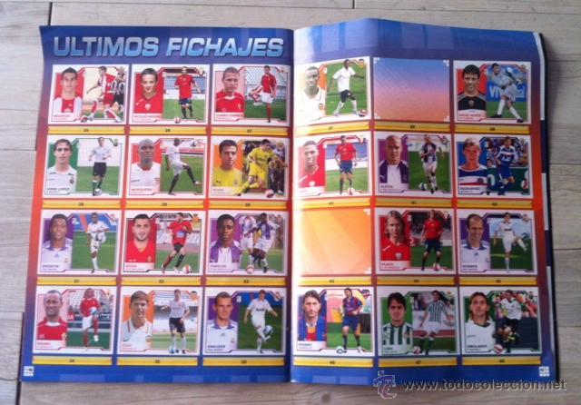 Coleccionismo deportivo: album de cromos casi completo ( faltan 4 cromos normales y 3 ultimos fichajes ) liga 07 08 este - Foto 3 - 43220456