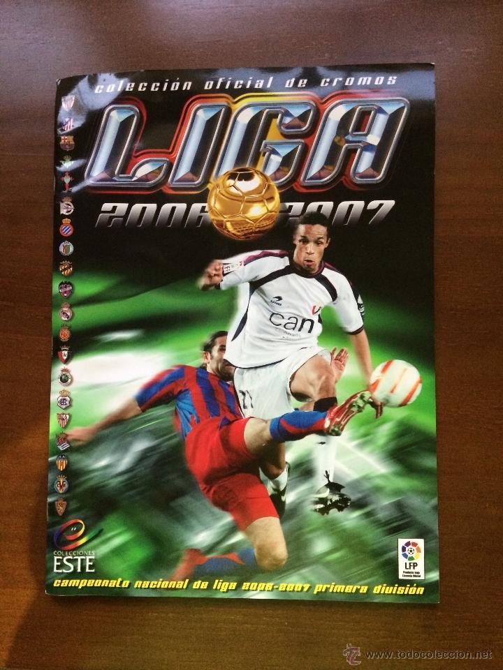 ALBUM EDICIONES ESTE 2006.2007 ( PLANCHA ) (Coleccionismo Deportivo - Álbumes y Cromos de Deportes - Álbumes de Fútbol Incompletos)