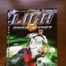 Coleccionismo deportivo: ALBUM EDICIONES ESTE 2006.2007 ( PLANCHA ). Lote 43281849