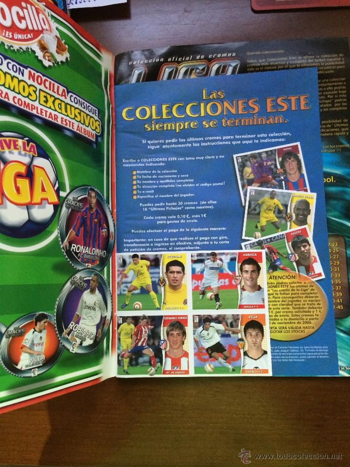Coleccionismo deportivo: Album Ediciones Este 2006.2007 ( Plancha ) - Foto 2 - 43281849