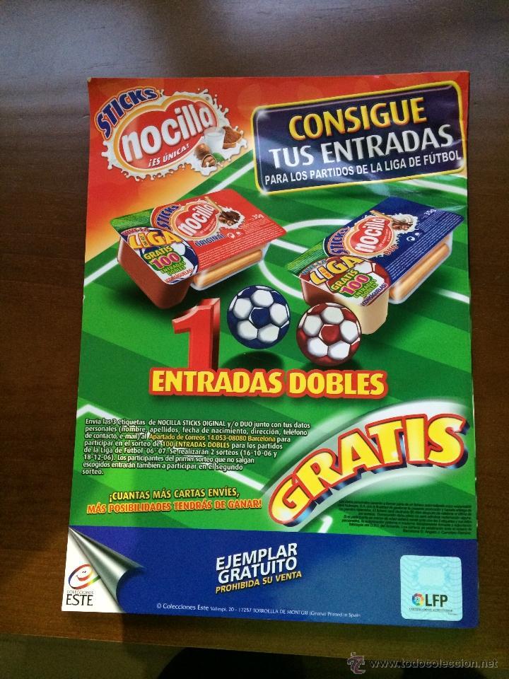Coleccionismo deportivo: Album Ediciones Este 2006.2007 ( Plancha ) - Foto 4 - 43281849