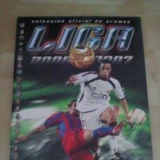 Coleccionismo deportivo: ÁLBUM EDICIONES ESTE LIGA 2006-07 - 06/07 - CASI COMPLETO A FALTA DE 5 CROMOS (NUEVO). Lote 43327659