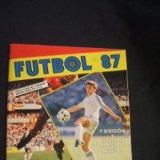 Coleccionismo deportivo: ALBUM DE CROMOS - FUTBOL 87 - PANINI - . Lote 43509090