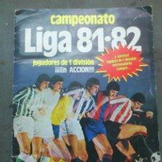 Coleccionismo deportivo: ALBUM DE FUTBOL CAMPEONATO LIGA 81-82 CON 220 CROMOS / EDICIONES ESTE. Lote 43646853