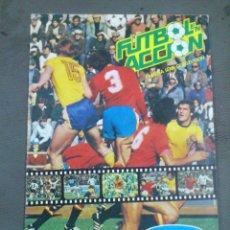 Coleccionismo deportivo: ALBUM 1982 DANONE MUNDIAL ESPAÑA 82 FUTBOL EN ACCION. Lote 43666362