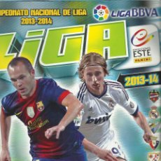 Coleccionismo deportivo: ALBUM DE LA LIGA BBVA 2013-2014 CON 490 CROMOS. Lote 44885201
