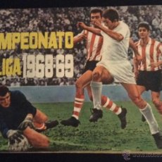 Coleccionismo deportivo: ALBUM CASI COMPLETO ( FALTAN 3 CROMOS ) CAMPEONATO LIGA 1968-69 DISGRA. Lote 101122522