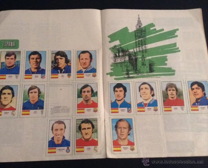 Coleccionismo deportivo: album de cromos de futbol munich 74 casi completo ( faltan 5 cromos ) - Foto 2 - 43772736