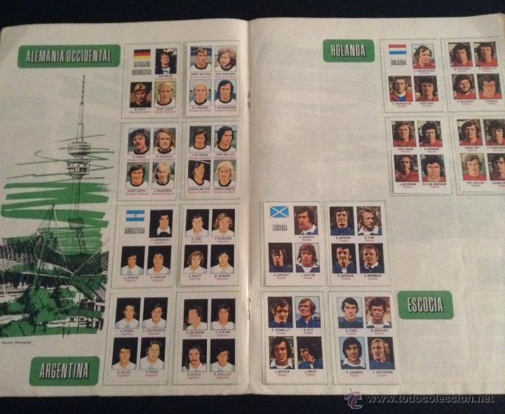 Coleccionismo deportivo: album de cromos de futbol munich 74 casi completo ( faltan 5 cromos ) - Foto 3 - 43772736