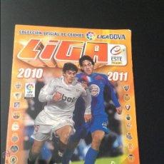 Coleccionismo deportivo: ALBUM CROMO CROMOS LIGA 2010 2011 COLECCIONES ESTE FALTAN 88 CROMOS NORMALES Y 42 ULTIMOS FICHAJES. Lote 43780581
