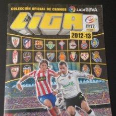 Coleccionismo deportivo: ALBUM CROMOS CROMO LIGA 2012-13 2013 2012 ESTE FALTAN 22 CROMOS NORMALES Y 29 ULTIMOS FICHAJES. Lote 43780936