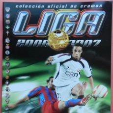 Coleccionismo deportivo: ALBUM VACIO PLANCHA ESTE LIGA 06-07 COLECCION OFICIAL CROMOS 2006/2007 PANINI. Lote 72064763