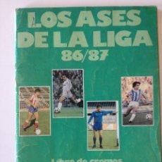Coleccionismo deportivo: ALBUM DE CROMOS FUTBOL DIARIO AS LOS ASES DE LA LIGA 1986 1987 86 87. Lote 44012804