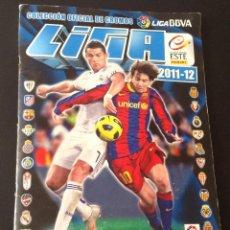 Coleccionismo deportivo: ALBUM LIGA 2011 2012 ESTE ( FALTAN 29 NORMALES, 1 ESCUDO, 20 ÚLTIMOS FICHAJES ) HAY 86 CROMOS DOBLES. Lote 44071341