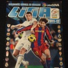 Coleccionismo deportivo: ALBUM LIGA 2011 2012 ESTE ( FALTAN 164 NORMALES, 6 ESCUDO, 45 ÚLTIMOS FICHAJES ) HAY 18 DOBLES. Lote 44083538