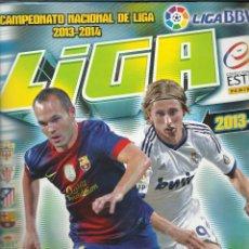 Coleccionismo deportivo: ALBUM DE CROMOS DE LA LIGA 2013-14 COLECCIONES ESTE CON 524 CROMOS. Lote 44812792